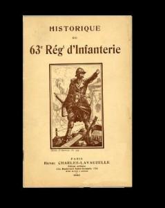 63e RI Historique