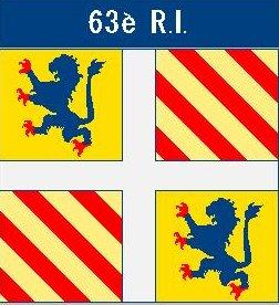 drapeau 63e RI