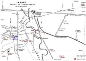 le 78e RI à la bataille de la Marne en septembre 1914