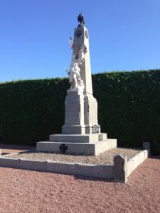 Monument aux mort de Nexon