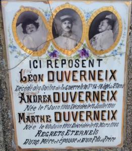 Léon Duverneix, décédé à 27 ans des suites de la guerre