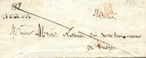 lettre 1839