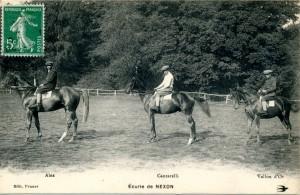 chevaux avec nom
