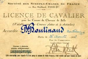 licence B. Boutinaud