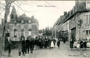 Nexon rue du Centre militaires