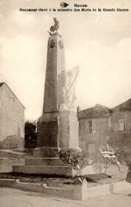 monument aux morts vert