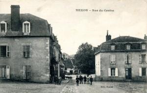 nexon rue du centre depuis place eglise