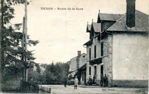 route gare depuis chapelle garennes