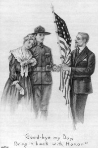 carte pour soldats quitant les etats Unis