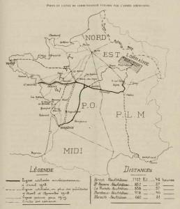 lignes chemin fer utilisées par l'armée américaine