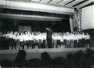 Chorale Nexon Chalus 1962-63 Pierre Leplant Concours UFOLEA