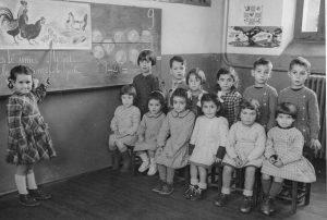 Ecole maternelle 1953 Daniel Michel