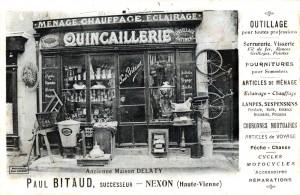 106 - COM - quincaillerie Delaty 001-1 - P. Bitaud successeur - Photothèque Paul Colmar