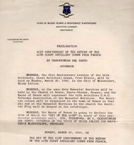 66 coast certificat du gouverneur 1