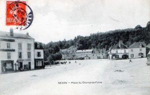 place du champ de foire poste 28 mai 1909