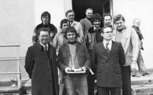 1er avril 1978 le maire et le president