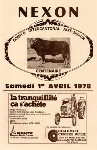 concours 1978