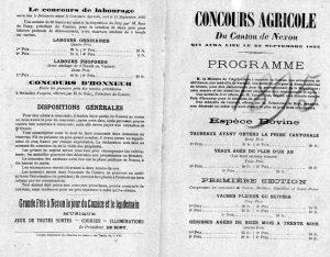 programme 1895