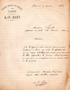 raby denonce le bail 1885